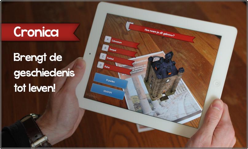 Cronica iPad app