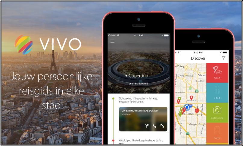 VIVO – Persoonlijke reisgids voor iPhone